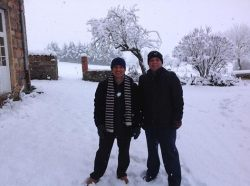 Chris & Kabs in France
