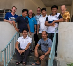 District members at Marist Centre Ranong