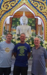 Kiwi Marists in Chalong Temple