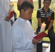 Roque renewal of vows