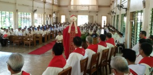 Holy Spirit Mass XACOSE
