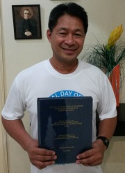 Larry with thesis