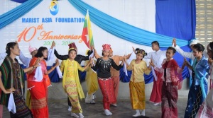 Marist Asia Foundation 10th anniversary Burmese dance