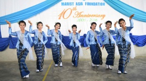 Marist Asia Foundation 10th anniversary dance
