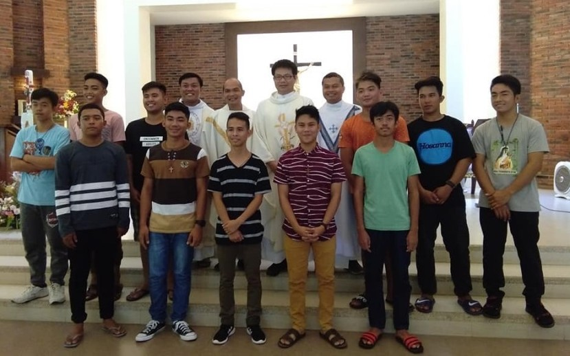 NEW GROUP OF MARIST INTERESTED COLLEGESTUDENTS