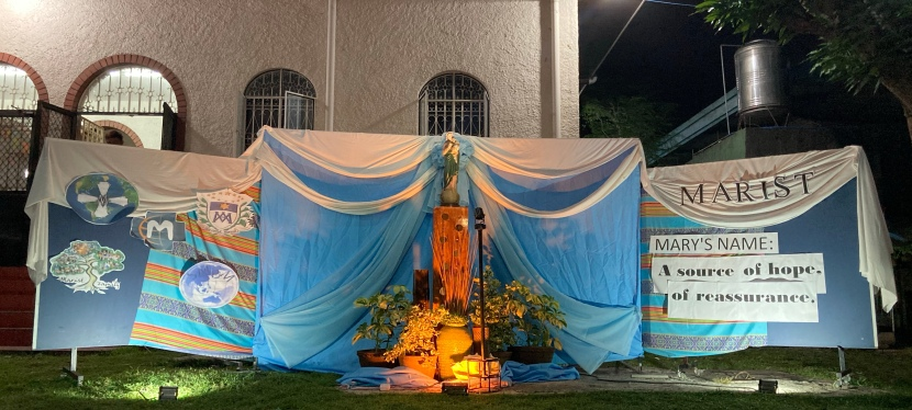 Holy Name of Mary Celebration in Davao